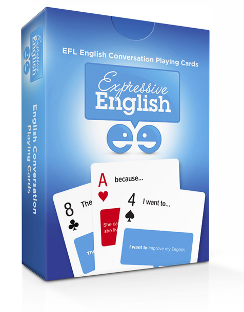 English Conversation Playing Cards